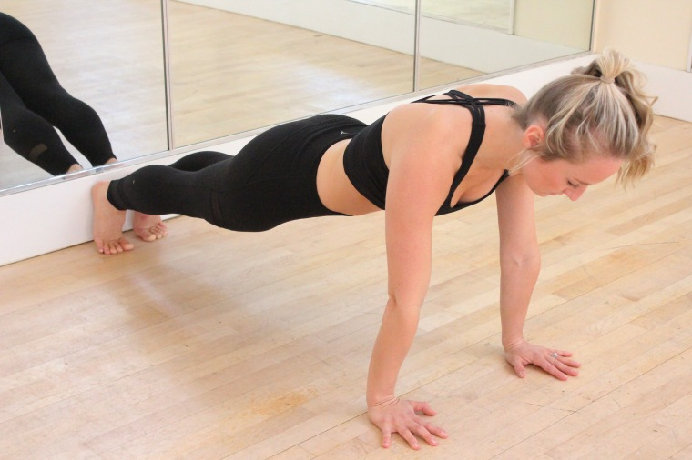 planks and splits exercise